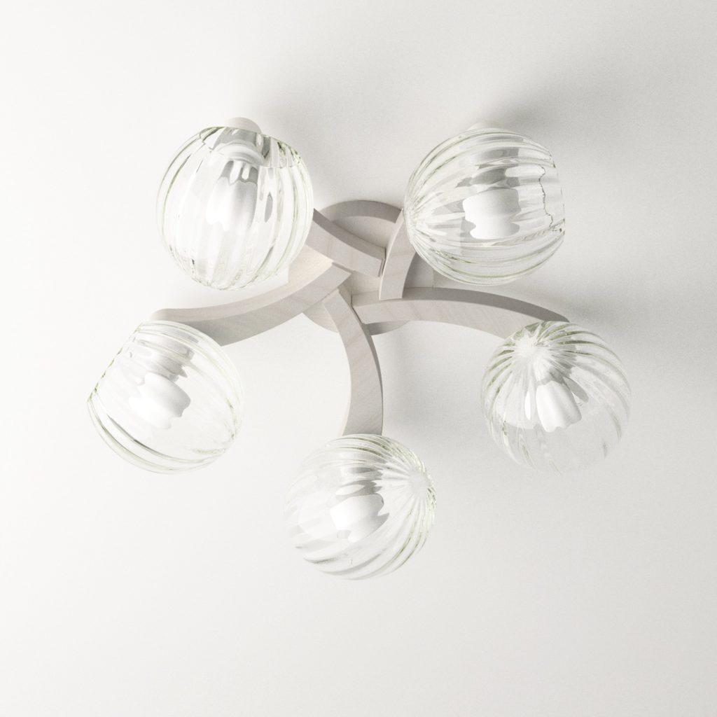 lustr-pleiada-5xe14-bily