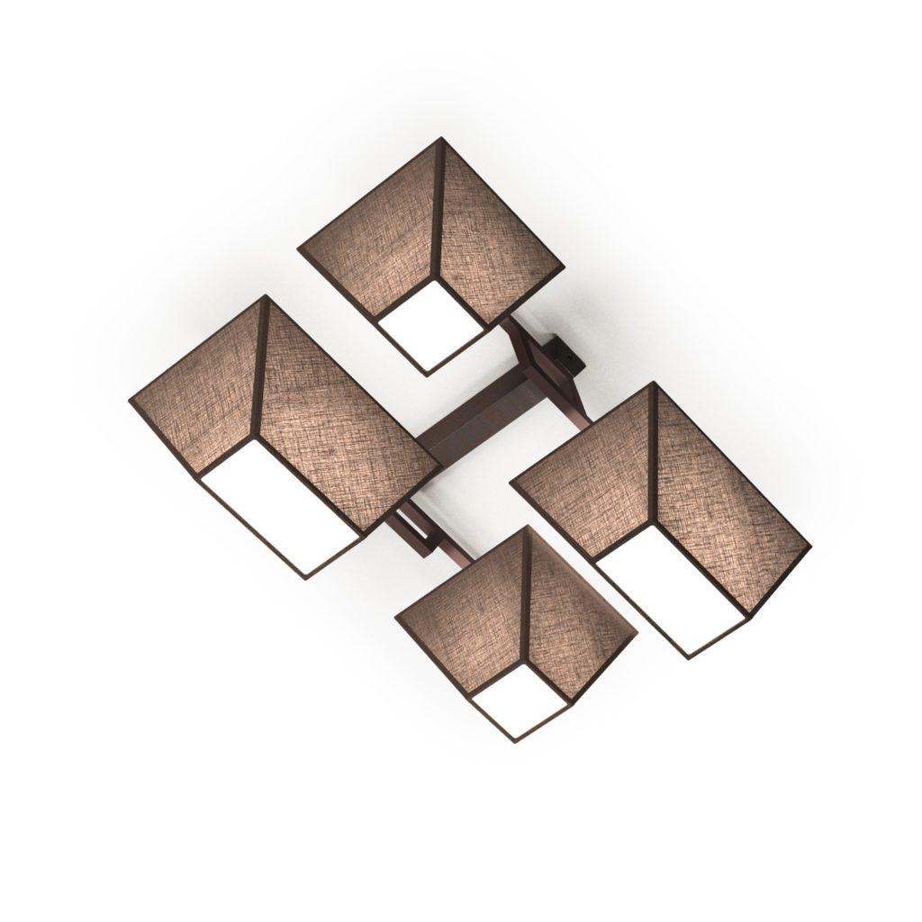 lustr-roof-4xe27-hnedy