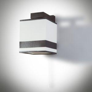 Dřevěné nástěnné světlo Granada v moderním stylu