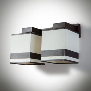 Nástěnné světlo Bra Granada 2xE27